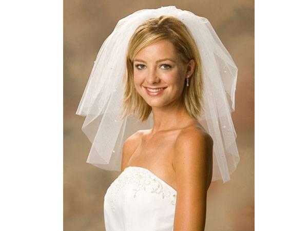 Как подобрать фату под свадебный наряд?
