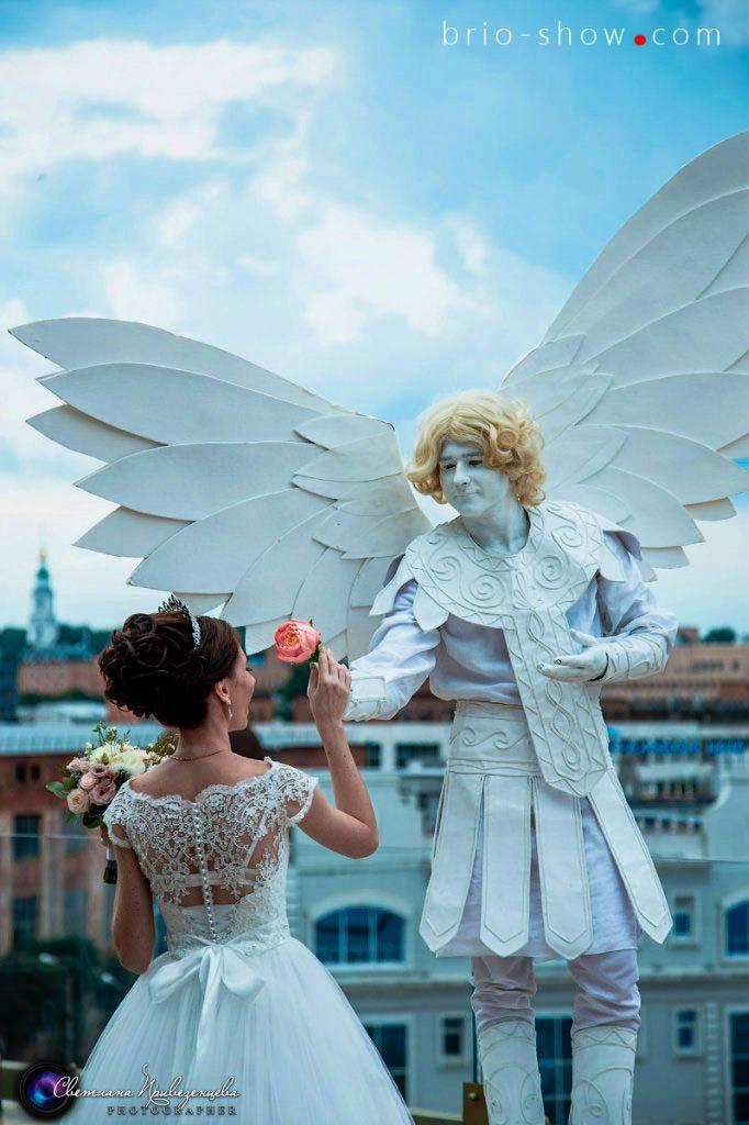 Живые скульптуры на свадьбу