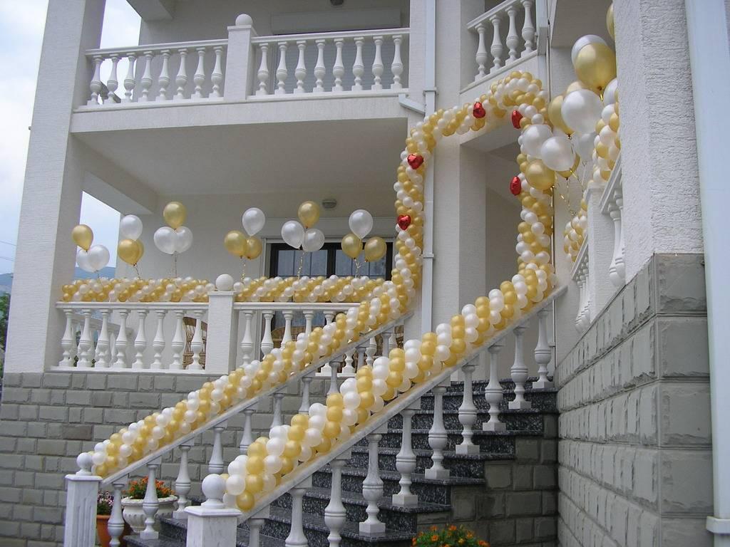 75 современных идей оформления свадебного зала