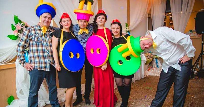 Сценарий свадьбы для небольшой компании: весело и без тамады