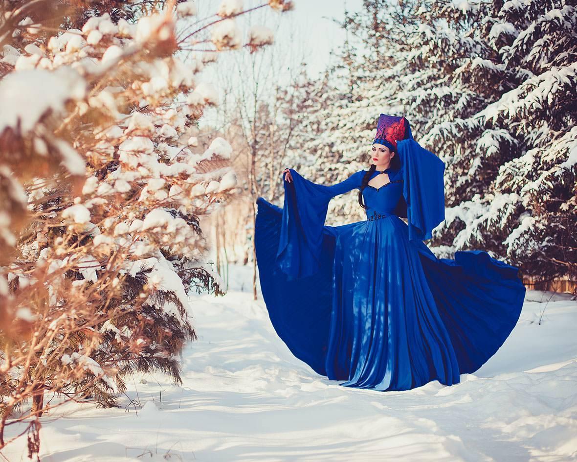Аксессуары для зимней свадебной фотосессии