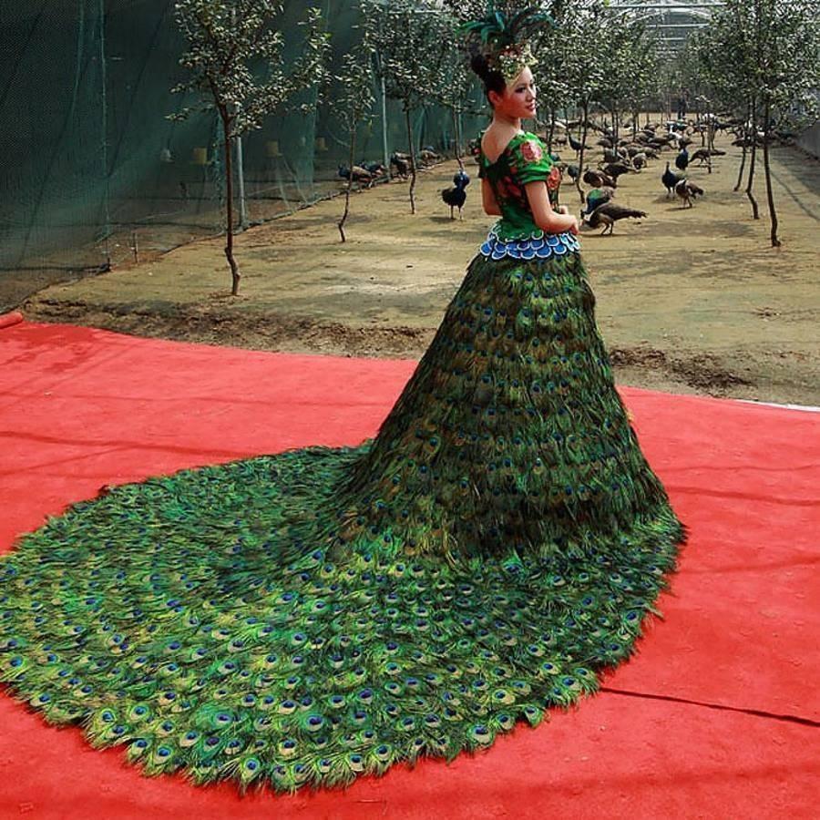 Топ самых странных и необычных свадебных платьев со всего мира / mama66.ru