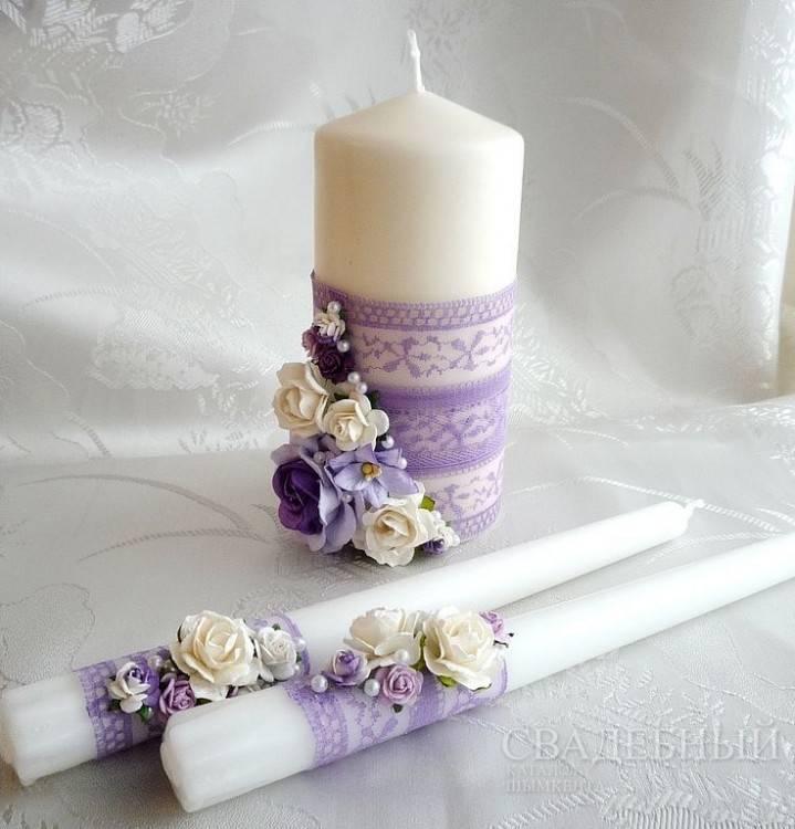Свечи для семейного очага своими руками