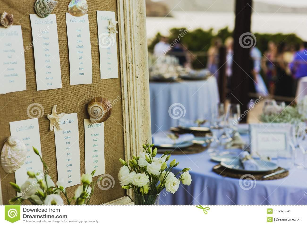 План рассадки гостей на свадьбе: важно продумать все до мелочей