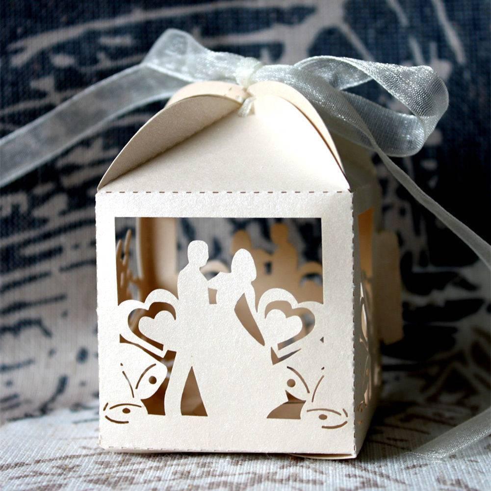 Мастер класс — картонные бонбоньерки на свадьбу для гостей