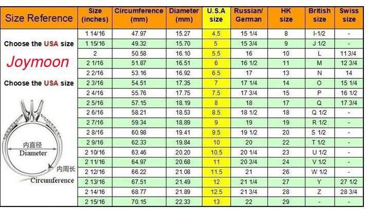 Размер колец на алиэкспресс на русском