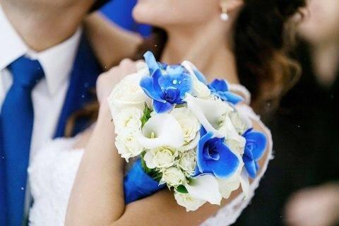 Цвет свадебного букета: идеи и советы