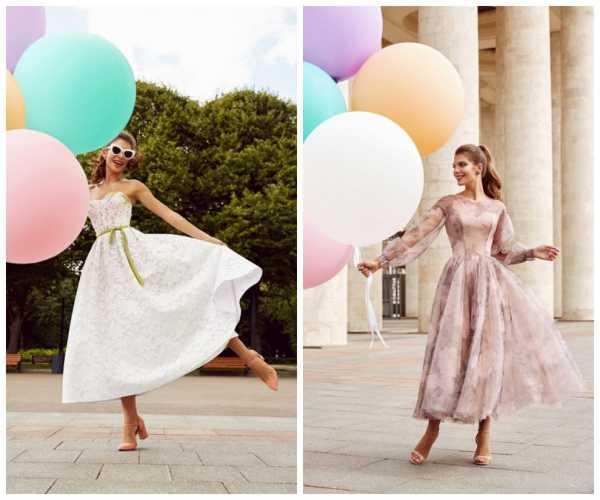 Модные модели и фасоны праздничных платьев для женщин, обзор стильных луков