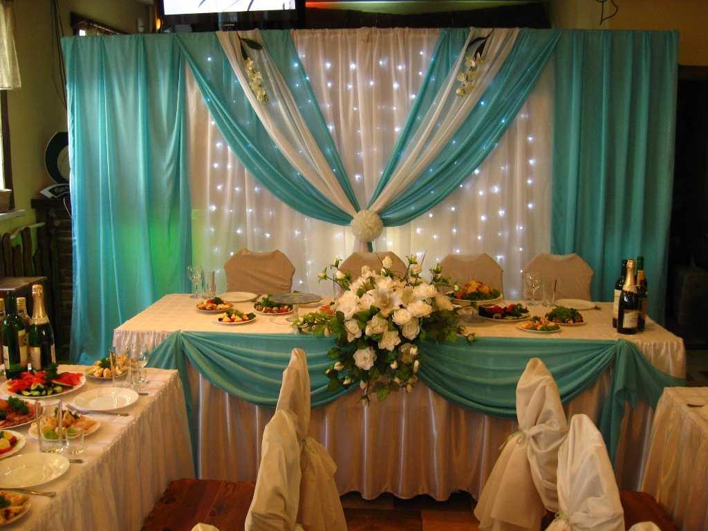 Как украсить зал на свадьбу своими руками: тонкости и варианты декора