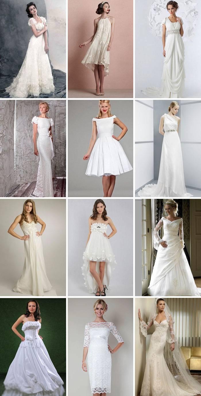 Облегающие свадебные платья: фасоны и фото платьев в обтяжку