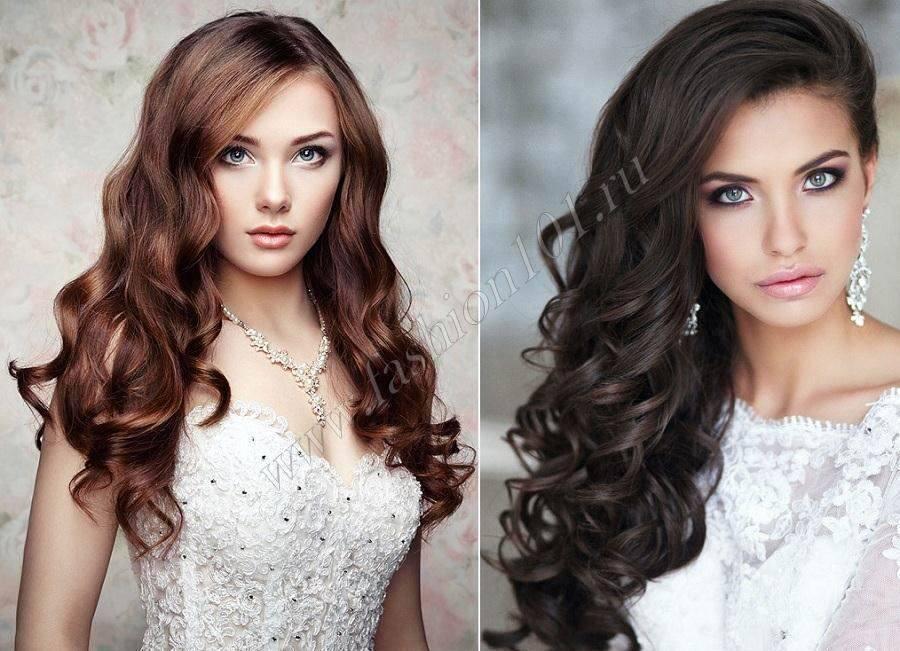 Свадебные прически на средние волосы – лучшие укладки для невесты в разных стилях
