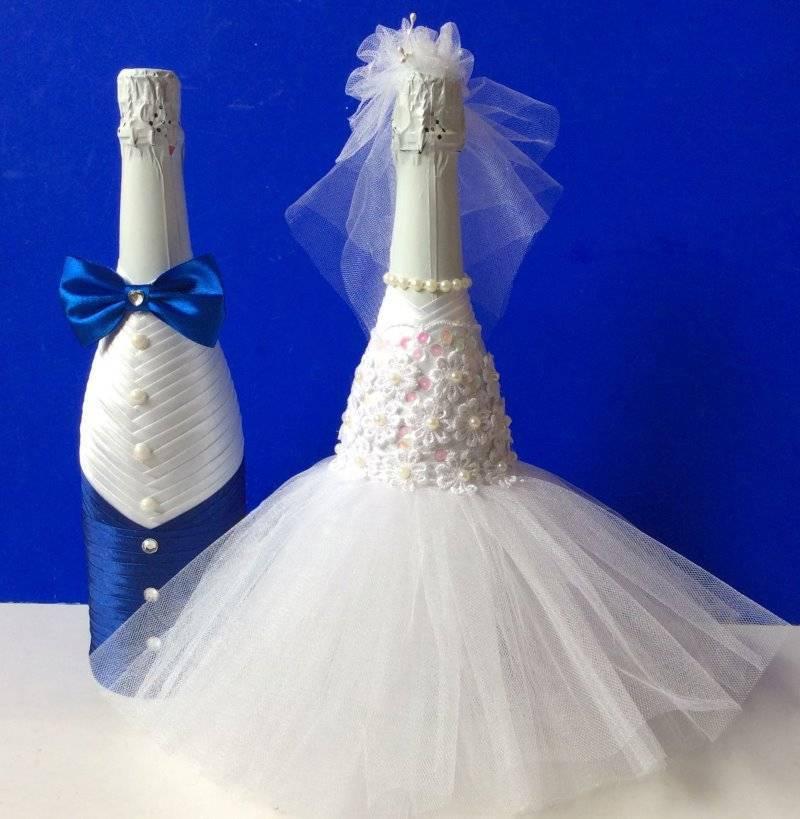 Как украсить шампанское на свадьбу своими руками, мастер-класс | podelki-doma.ru