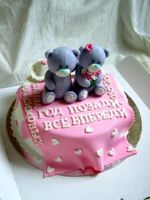 Лучшие идеи тортов на годовщину свадьбы