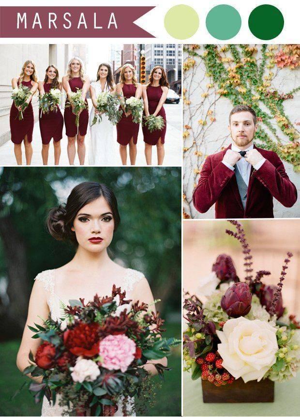 Зеленый букет невесты своими руками